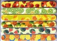 Kundenfeile Fruits im Set