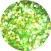 Glittergel multi-hellgrün